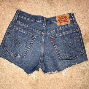 BRAND NEW levi's denim shorts